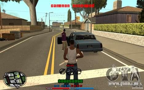 Cleo HUD by Cameron Rosewood V1.0 für GTA San Andreas fünften Screenshot