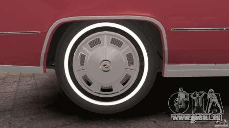 Cadillac Eldorado 1968 für GTA 4 Innen
