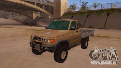 UAZ-2360 für GTA San Andreas Innen