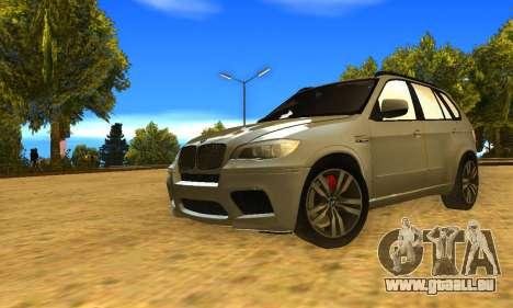 BMW X5M 2013 v2.0 pour GTA San Andreas