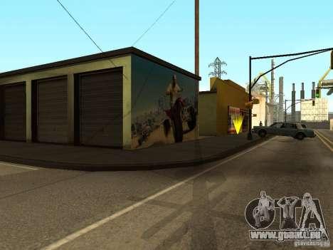Poster von GTA 5 für GTA San Andreas fünften Screenshot