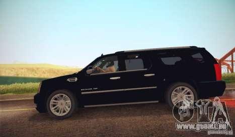 Cadillac Escalade ESV 2012 für GTA San Andreas linke Ansicht