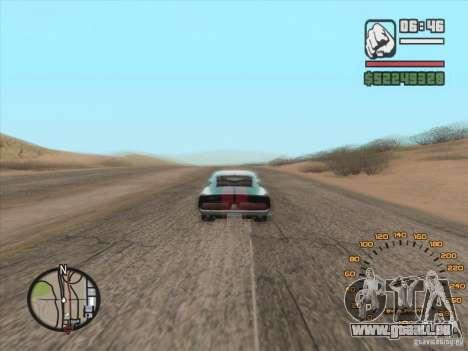 Klassischen Tacho für GTA San Andreas