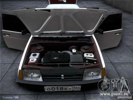 VAZ 2109 Rostow für GTA San Andreas Unteransicht