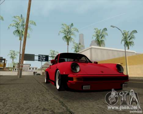 Porsche 911 Turbo pour GTA San Andreas vue de droite