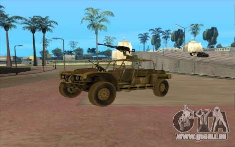 FAV Buggy de Battlefield 2 pour GTA San Andreas