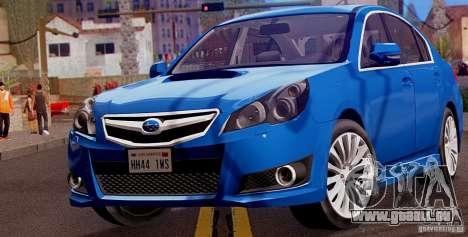 Subaru Legacy B4 2010 für GTA San Andreas linke Ansicht