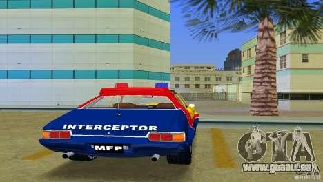Ford Falcon 351 GT Interceptor für GTA Vice City Rückansicht
