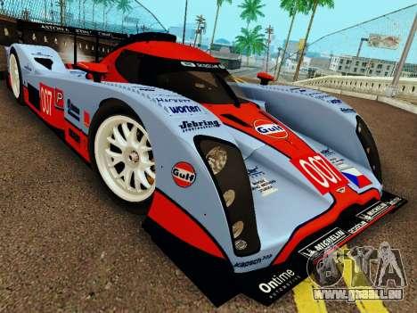Aston Martin DBR1 Lola 007 für GTA San Andreas zurück linke Ansicht