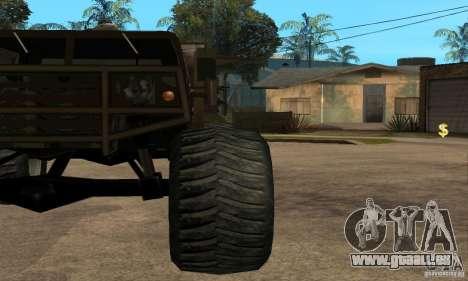 Monster Patriot pour GTA San Andreas vue de droite