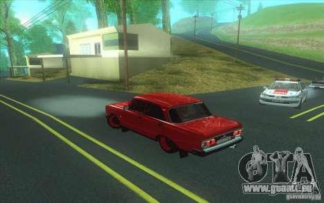 Moskvich 2140 für GTA San Andreas linke Ansicht