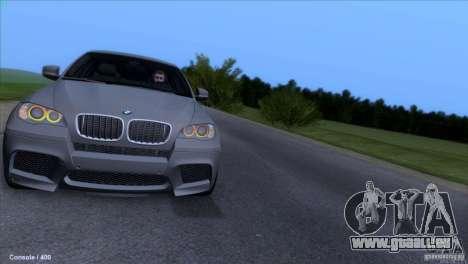BMW X6M pour GTA San Andreas vue de côté