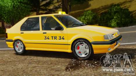 Taxi Renault 19 pour GTA 4 est une gauche
