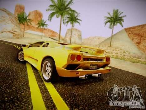 Lamborghini Diablo VT 1994 für GTA San Andreas rechten Ansicht