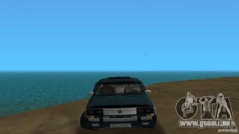 VAZ 2106 pour une vue GTA Vice City de la gauche