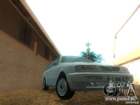 Volkswagen Passat B4 Variant für GTA San Andreas Rückansicht