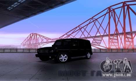 Mercedes-Benz G500 für GTA San Andreas linke Ansicht