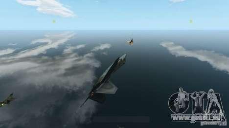 Air Combat IV für GTA 4 fünften Screenshot
