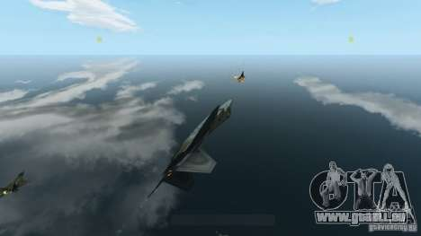 Air Combat IV pour GTA 4 cinquième écran