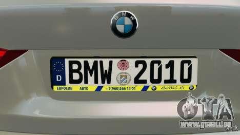 BMW X1 pour GTA 4 Salon