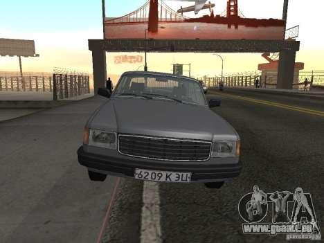 Volga GAZ 31029 pour GTA San Andreas vue de droite