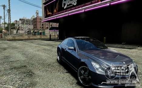 Mercedes Benz E500 Coupe für GTA 4 Rückansicht