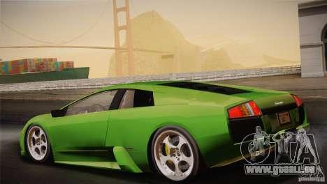 Lamborghini Murcielago 2002 v 1.0 für GTA San Andreas Unteransicht