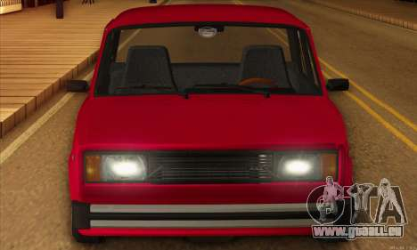 VAZ 2105 Cherry Pie pour GTA San Andreas vue de droite