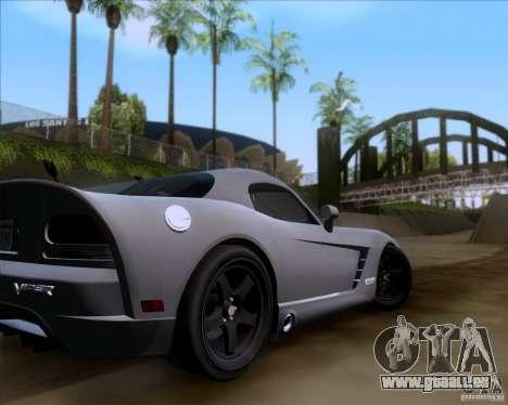 Dodge Viper SRT-10 Coupe für GTA San Andreas Seitenansicht