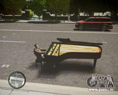 Crazy Piano für GTA 4 linke Ansicht