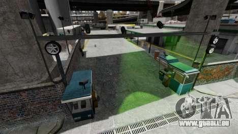 Die Strecke im Stil der Gymkhana für GTA 4