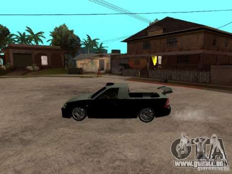 Lada Priora Pickup pour GTA San Andreas laissé vue
