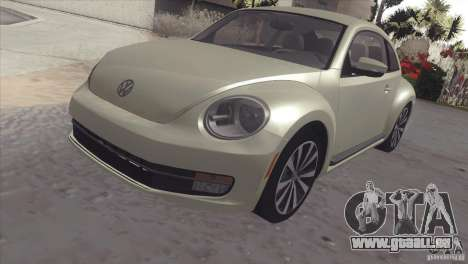 Volkswagen Beetle Turbo 2012 pour GTA San Andreas