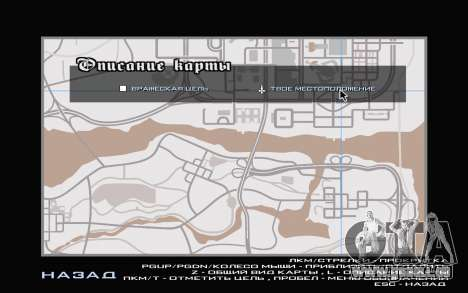 GTA V map für GTA San Andreas fünften Screenshot