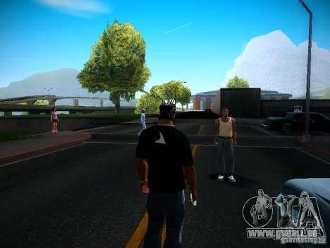 Changer les caractères pour GTA San Andreas quatrième écran