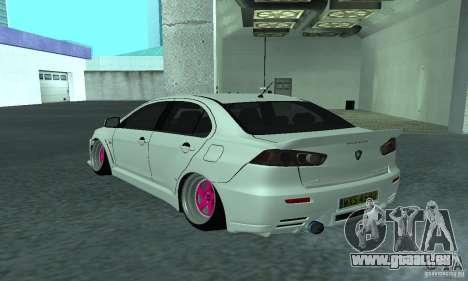 Proton Inspira Camber Edition pour GTA San Andreas laissé vue