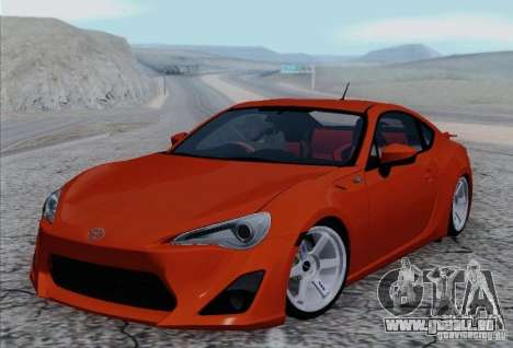 Toyota GT86 pour GTA San Andreas