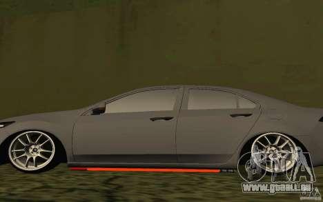 Honda Accord pour GTA San Andreas vue de côté