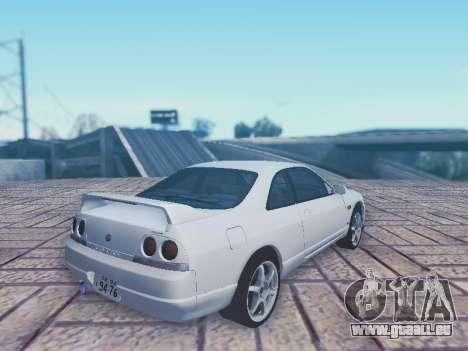 Nissan Skyline ECR33 pour GTA San Andreas laissé vue