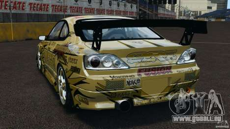 Nissan Silvia S15 D1GP TOP SECRET für GTA 4 hinten links Ansicht