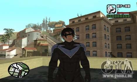 Nightwing skin pour GTA San Andreas