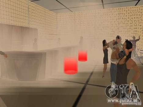 Club für GTA San Andreas her Screenshot