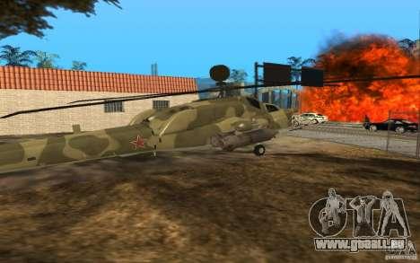 MI-28n für GTA San Andreas rechten Ansicht