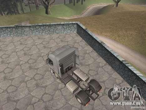 Iveco Stralis GTS pour GTA San Andreas laissé vue