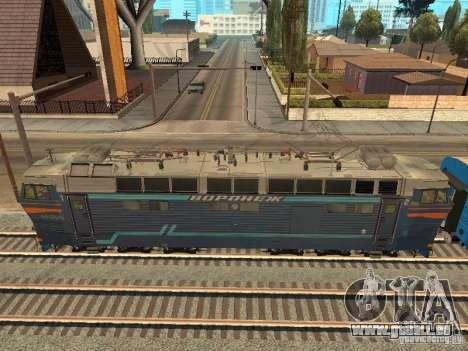 Chs4t-550 für GTA San Andreas zurück linke Ansicht