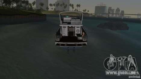 Bateau pour GTA Vice City vue latérale