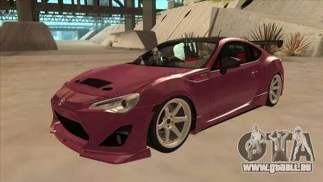 Toyota GT86 Drift 2013 pour GTA San Andreas