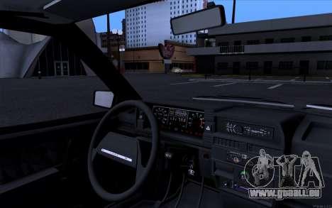 VAZ 21099 Vip Style pour GTA San Andreas sur la vue arrière gauche