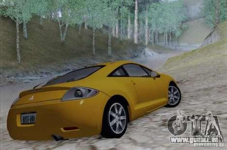 Mitsubishi Eclipse GT V6 pour GTA San Andreas laissé vue