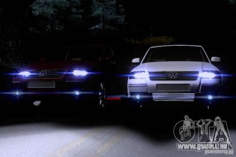Volkswagen Passat B5+ pour GTA San Andreas salon